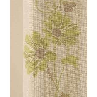 ドレープカーテンアイビー(100×178cm/グリーン)