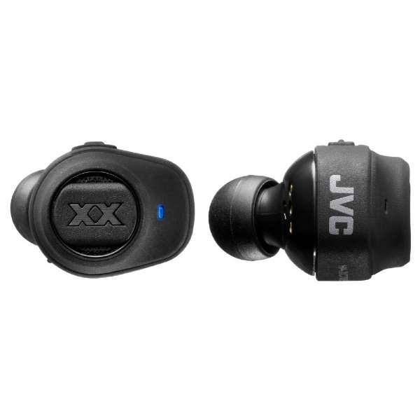 フルワイヤレスイヤホン ブラック HA-XC70BT-B [リモコン・マイク対応 /ワイヤレス(左右分離) /Bluetooth]