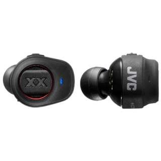 フルワイヤレスイヤホン レッド HA-XC70BT-R [リモコン・マイク対応 /ワイヤレス(左右分離) /Bluetooth]