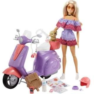 バービー ピンクパスポート バービーとスクーターでおでかけ!