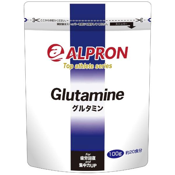 アルプロン トップアスリートシリーズ グルタミン 100g