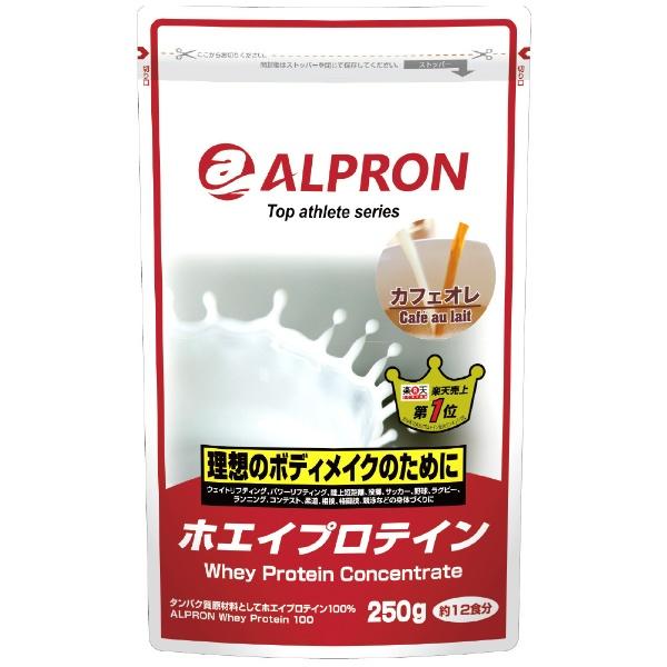 アルプロン トップアスリートシリーズ ホエイプロテイン100 カフェオレ 250g
