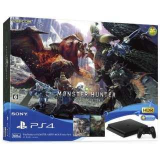 PlayStation 4 (プレイステーション4) MONSTER HUNTER: WORLD Value Pack [ゲーム機本体]