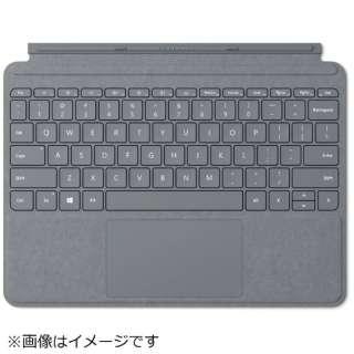 【純正】 Surface Go用 Surface Go Signature タイプ カバー KCS-00019 プラチナ