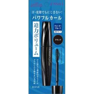 FASIO(ファシオ)パワフルカール マスカラEX(ボリューム) BK001 ブラック #001