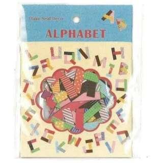 フレークシールデコ 60-421 アルファベット