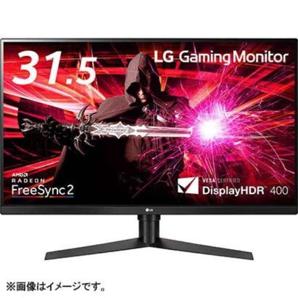 ゲーミングモニター ブラック 32GK850F-B [31.5型 /ワイド /WQHD(2560×1440)]