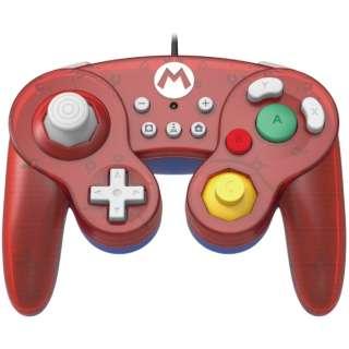 ホリ クラシックコントローラー for Nintendo Switch マリオ NSW-107 【Switch】