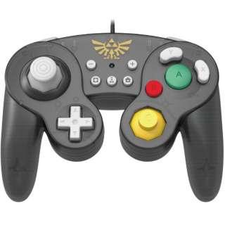 ホリ クラシックコントローラー for Nintendo Switch ゼルダ NSW-108 【Switch】