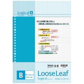 ロジカルルーズリーフ(A4・B罫・50枚) LL-A401B