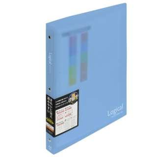 ロジカルバインダーノート ワイド(A4・A罫・20枚) BN-A402A-B ブルー