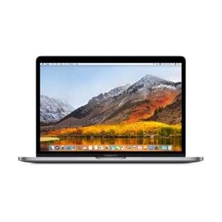 MacBookPro 13インチ Touch Bar搭載モデル[2018年/SSD 512GB/メモリ 8GB/2.3GHzクアッドコア Core i5]スペースグレイ MR9R2J/A