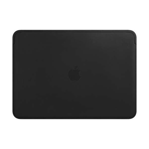 13インチMacBook Pro用レザースリーブ ブラック