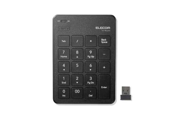 テンキーのおすすめ12選 エレコム TK-TDP019(ワイヤレス/USBレシーバー)