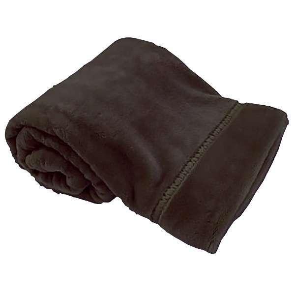 ラフィーナ2枚合わせ毛布(シングルサイズ/140×200cm/ブラウン)