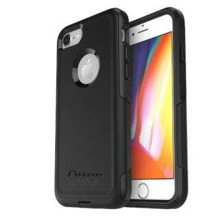 iPhone8/7 (4.7) Commuter 耐衝撃ケース/ブラック 77-56650 Black