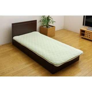 【敷パッド】ヒノール セミダブルサイズ(120×205cm/グリーン)