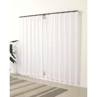 2枚組レースカーテン コリン(100×133cm/ホワイト)