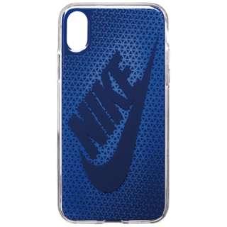 iPhone X用 NIKE GRAPHIC SWOOSH ケース DG0027-918F シグナルブルー/ジムブルー