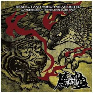 THE HAWKS/血盟(BLOOD PLEDGE)/ RESPECT AND HONOR ASIAN UNITED 【CD】
