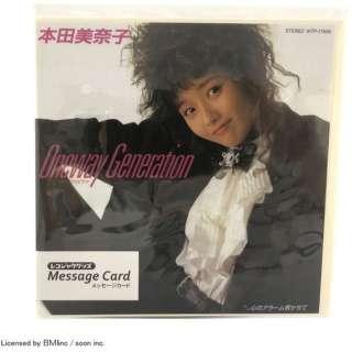 MC-HM-002レコジャケ メッセージカード[本田美奈子] MC-HM-002