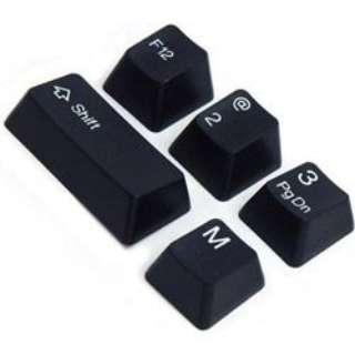 Cherry MX軸対応交換用キーキャップフルセット(黒)