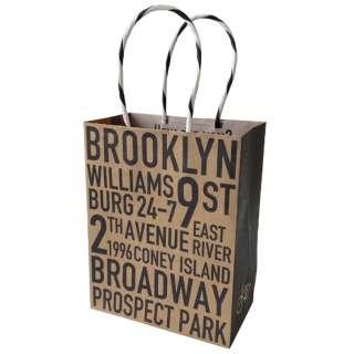 クラフトギフトバッグ Mサイズ Brooklyn W01-KGM-0001