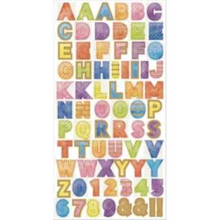 マスキングステッカー Alphabet1 W01-SMK-0016
