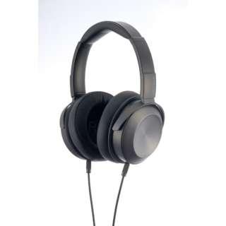 ヘッドホン VECLOS コズミックブラック HPS-500-CSB [φ3.5mm ミニプラグ /ハイレゾ対応]
