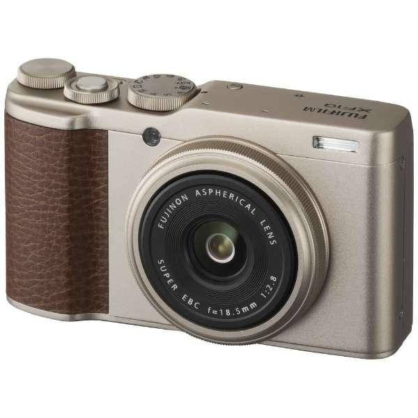 コンパクトデジタルカメラ FUJIFILM XF10(シャンパンゴールド) XF10 シャンパンゴールド