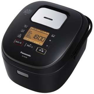 SR-HB108-K 炊飯器 ブラック [5.5合 /IH]