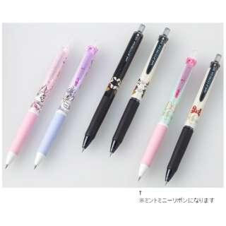 [油性ボールペン] 限定 ジェットストリーム ディズニー(0.5mm /黒) SXN189DS05MMR ミントミニーリボン