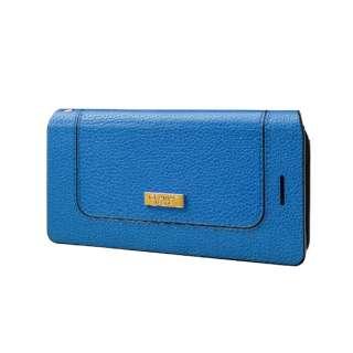 "iPhone 6s / 6用 GRAMAS FEMME Bag Type PU Leather Case ""Sac"" FLC275BL Blue"