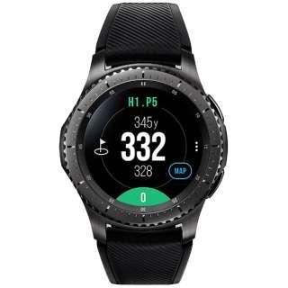 SM-R760NDAAJ01 スマートウォッチ Galaxy Gear S3 Golf Editon ブラック