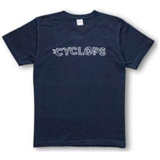 CYCLOPS athlete gaming オリジナルTシャツネイビー XL