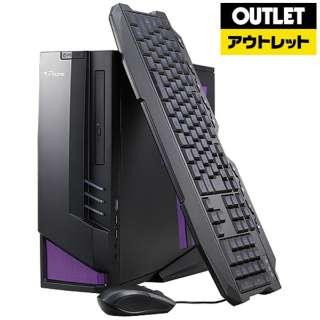 【アウトレット品】 ゲーミングデスクトップPC [RYZEN 7・SSD 240GB ・メモリ 8GB・GTX1060] BC-GSR17M8S2G16 【数量限定品】