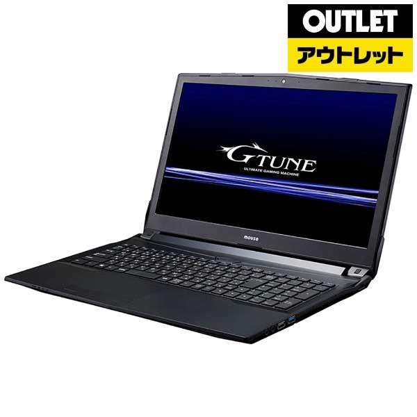 【アウトレット品】 15.6型ゲーミングノートPC[Win10 Home・Core i7・SSD240GB・メモリ8GB・GTX1050] NGNI777M8S2X15W10 【数量限定品】