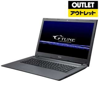 【アウトレット品】 17.3型ノートPC[Win10 Home・GTX1050Ti・Core i7・メモリ8GB・SSD128GB・HDD1TB] BCGTUNEI77G5TN1LL 【数量限定品】