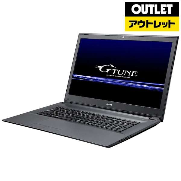 【アウトレット品】 17.3型ノートPC[Win10 Home・GTX1050Ti・Core i7・メモリ16GB・SSD256GB・HDD1TB] NGNI777M1S2H1X15W10W 【数量限定品】
