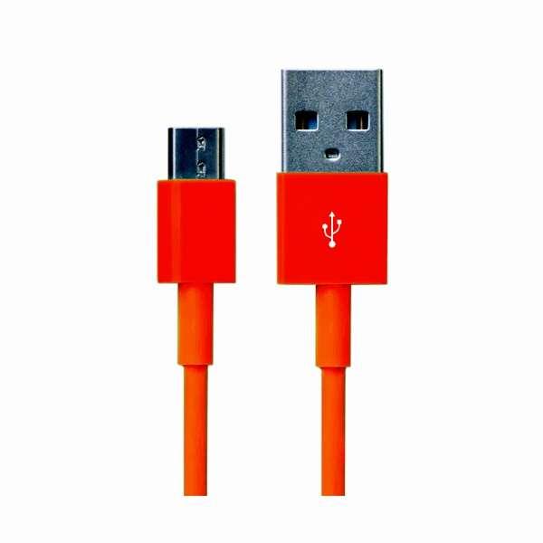 CABLE BITE 専用 micro USBケーブル VRT42637 オレンジ