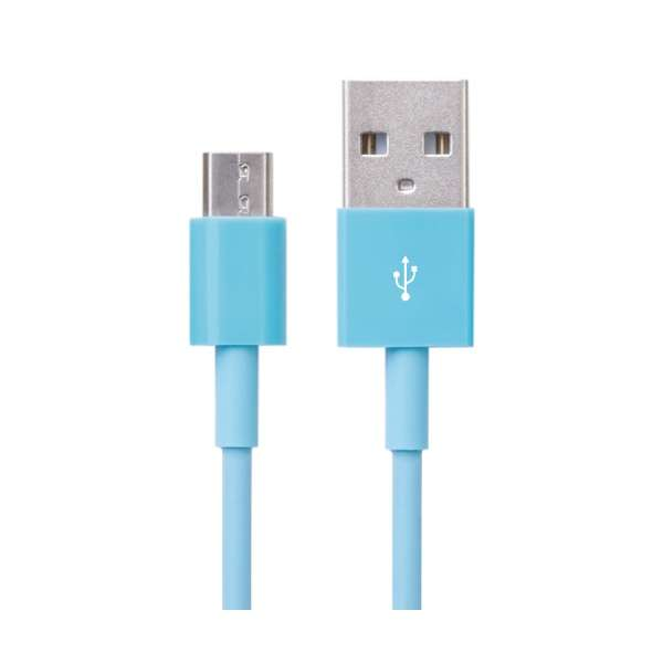 CABLE BITE 専用 micro USBケーブル VRT42640 ブルー