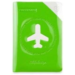 パスポートカバー HAPPY FLIGHT SHIELD PASSPOR COVER スキミング防止機能付 SNCF-122-2 オレンジ