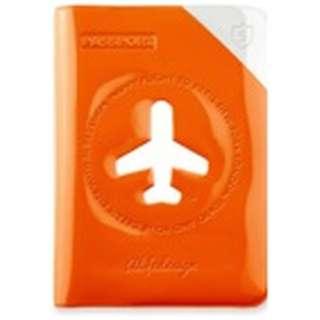 パスポートカバー HAPPY FLIGHT SHIELD PASSPOR COVER スキミング防止機能付 SNCF-122-3 グリーン