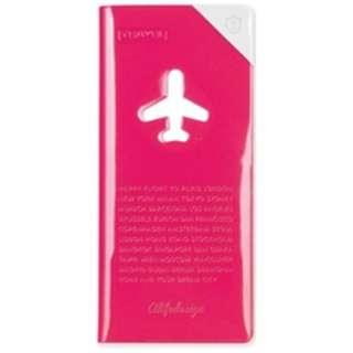 トラベルオーガーナイザー スキミング防止 HAPPY FLIGHT SHIELD TRAVEL ORGANIZER SNCF-123-1 ローズ