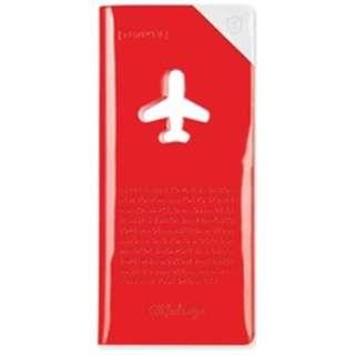 トラベルオーガーナイザー スキミング防止 HAPPY FLIGHT SHIELD TRAVEL ORGANIZER SNCF-123-5 レッド