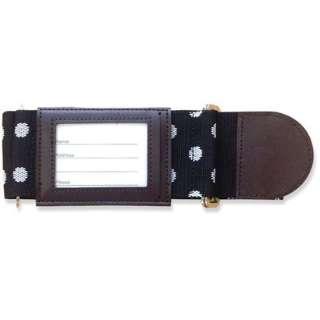 スーツケースベルトSL-60 ドット・ブラック