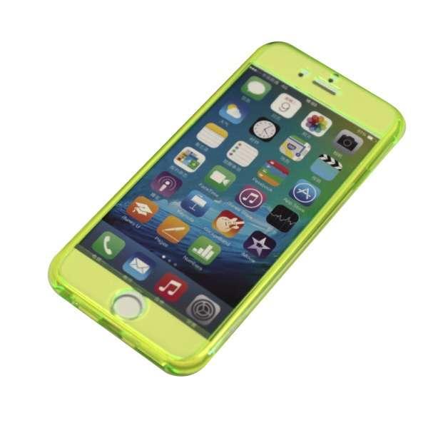 iPhone6/6s (4.7) 両面ハードケース IPC-43CGR グリーン
