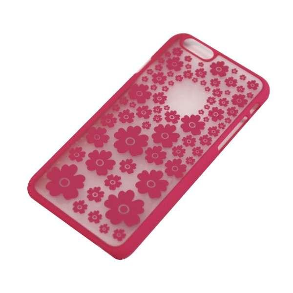 iPhone6/6s (4.7) 花柄TPUケース IPC-44PK ピンク