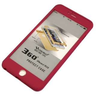 iPhone6/6s Plus クリア両面ケース ガラスフィルム付 IPC-60PK ピンク