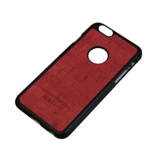 iPhone6/6s (4.7) 木目調ハードケース IPC-64RD レッド